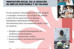 NESI forum. Las Nuevas Economías y la Innovación Social en la creación de empleo sostenible y de calidad. Empleaverde. Fundación Biodiversidad