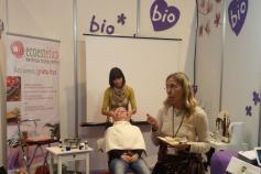 Tratamientos de cosmética natural en Biocultura