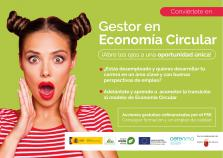 Banner Gestor en Economía Circular: Oportunidad de Empleo Verde