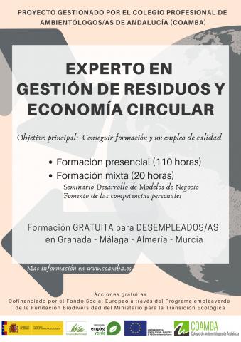EXPERTO EN GESTIÓN DE RESIDUOS Y ECONOMÍA CIRCULAR
