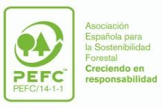 Logo Asociación para la Certificación Española Forestal PEFC España Empleaverde