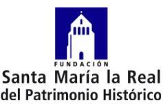 Logo Fundación Santa María la Real del Patrimonio Histórico Empleaverde